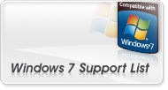 Windows 7 Support List